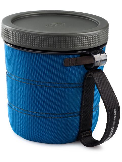GSI Fairshare 2 Borraccia blu/trasparente
